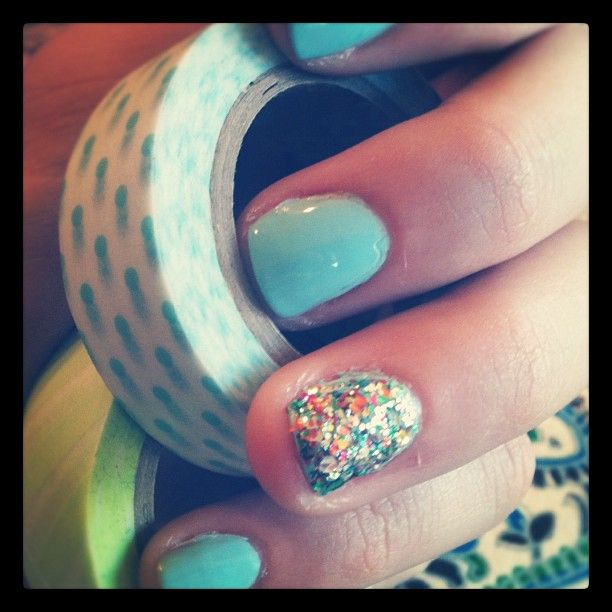 crafting tape & nails