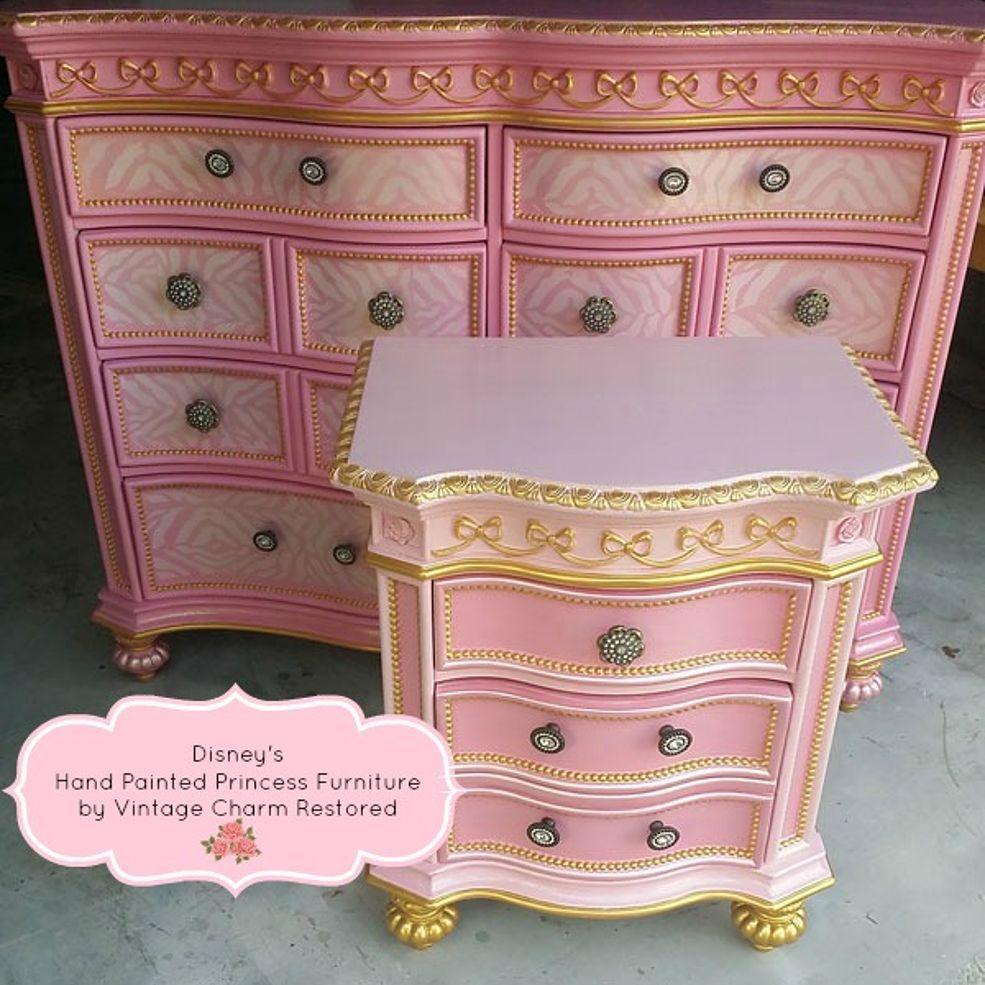 Hand Painted Princess Furniture Princess Furniture Furniture