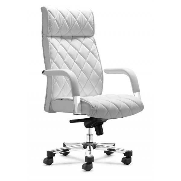 office chair white leather. Chanel Stitching On The Chair Is Great. White OfficeWhite Leather Office T