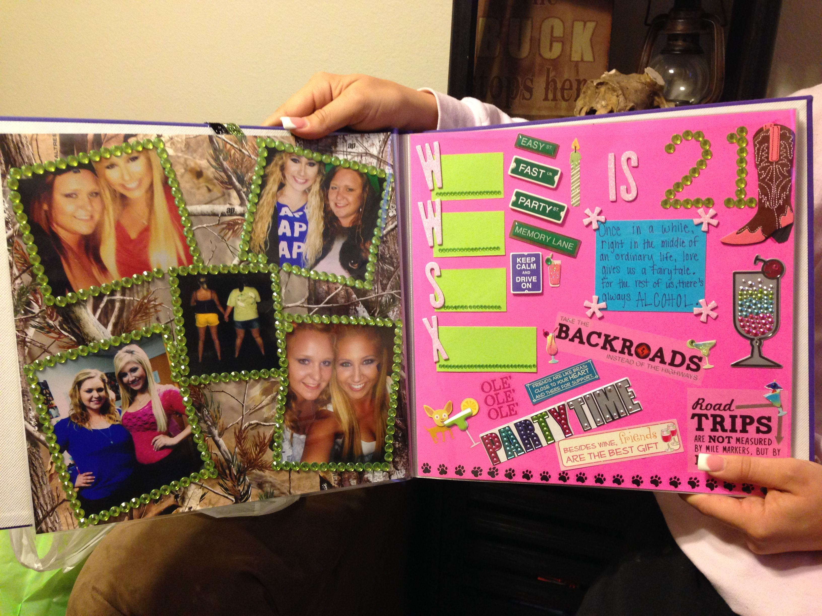 Book Cover Ideas For Girls : Scrapbook cover page designs for birthday pixshark