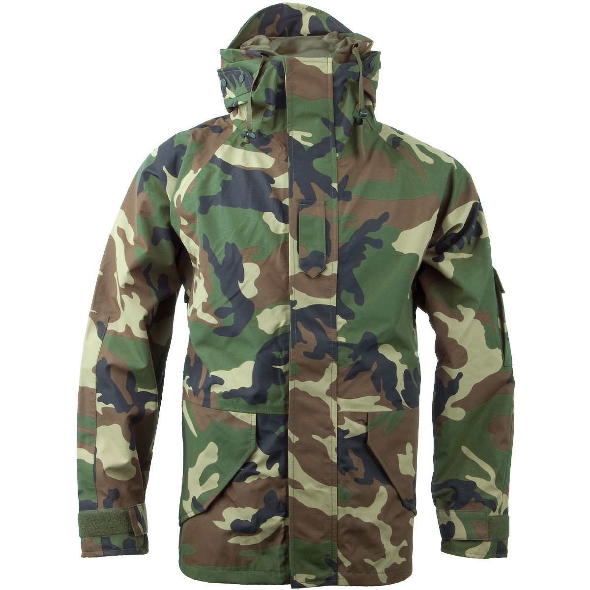 a915a95ec0ab9 Mil-Tec Wet Weather Trilaminate Jacket Woodland Preview