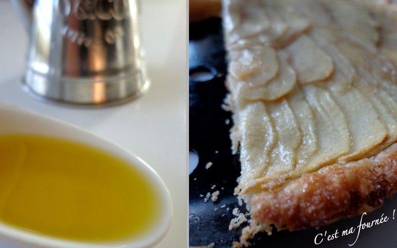 C'est ma fournée !: Tarte fine aux pommes et à l'huile d'olive