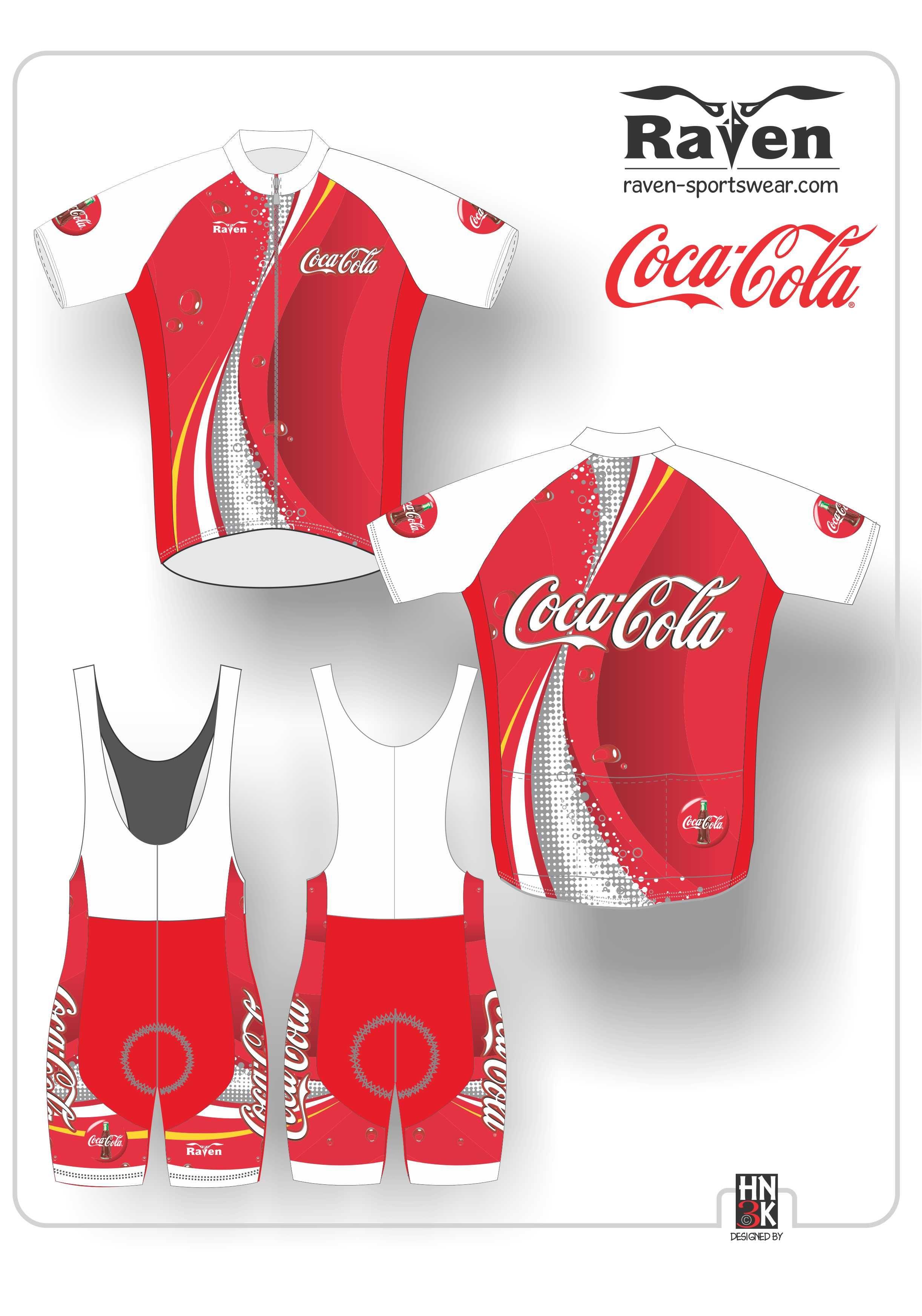 1cf6c54b8 Coca Cola cycling shirt fietskleding shorts  hn3k.be Cycling Wear