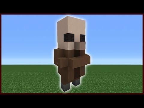 Minecraft Tutorial How To Make A Cute Villager Statue Youtube Minecraft Statues Minecraft Tutorial Minecraft