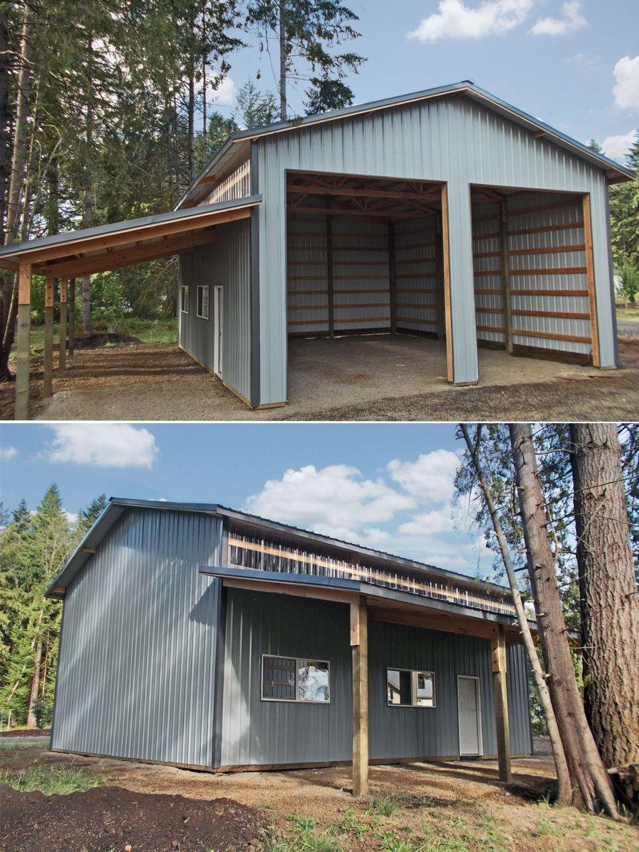 Pin By Presley Rae Baker On Pole Barn Garage In 2020 Metal Building Designs Metal Shop Houses Metal Garage Buildings