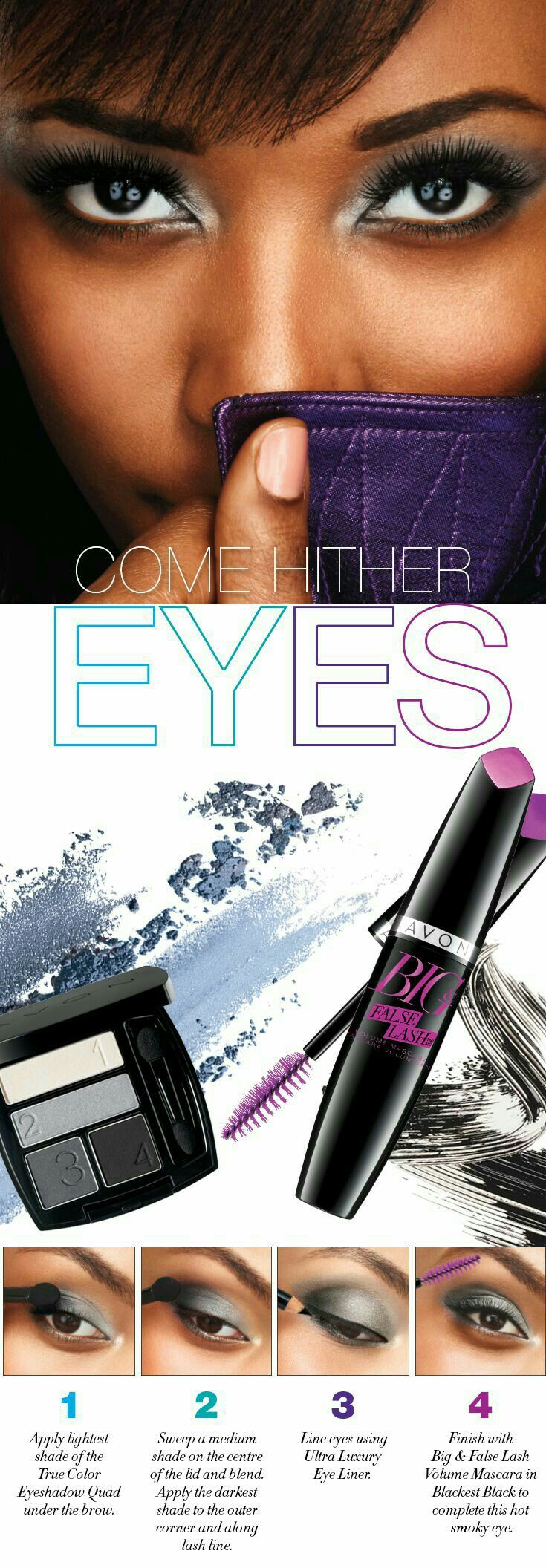 Eye makeup tutorial. Avon eyeshadow, Avon makeup, Avon