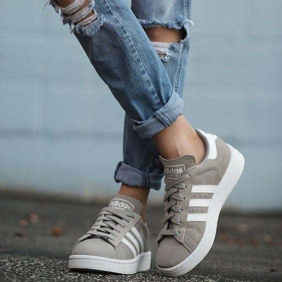 chaussure adidas campus femme
