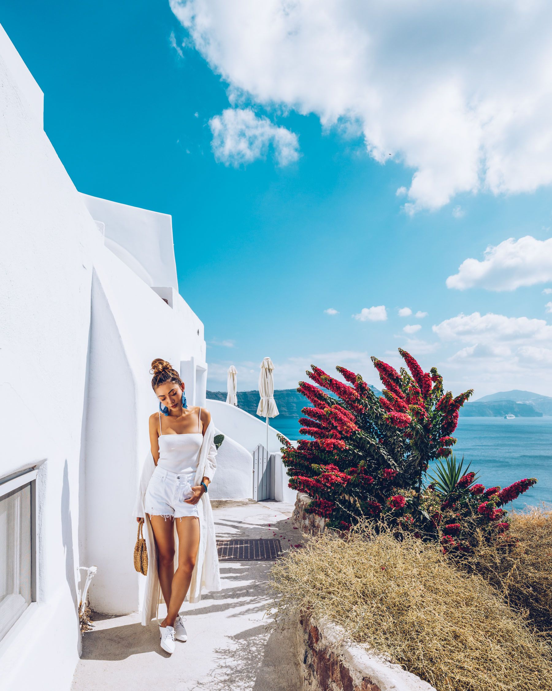 Instagram Outfits Round Up Most Instagrammable Spots In Santorini