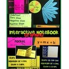 Creating interactive notebooks is a fun and meaningful way to learn any new topic.  This download includes everything you need to teach linear grap...