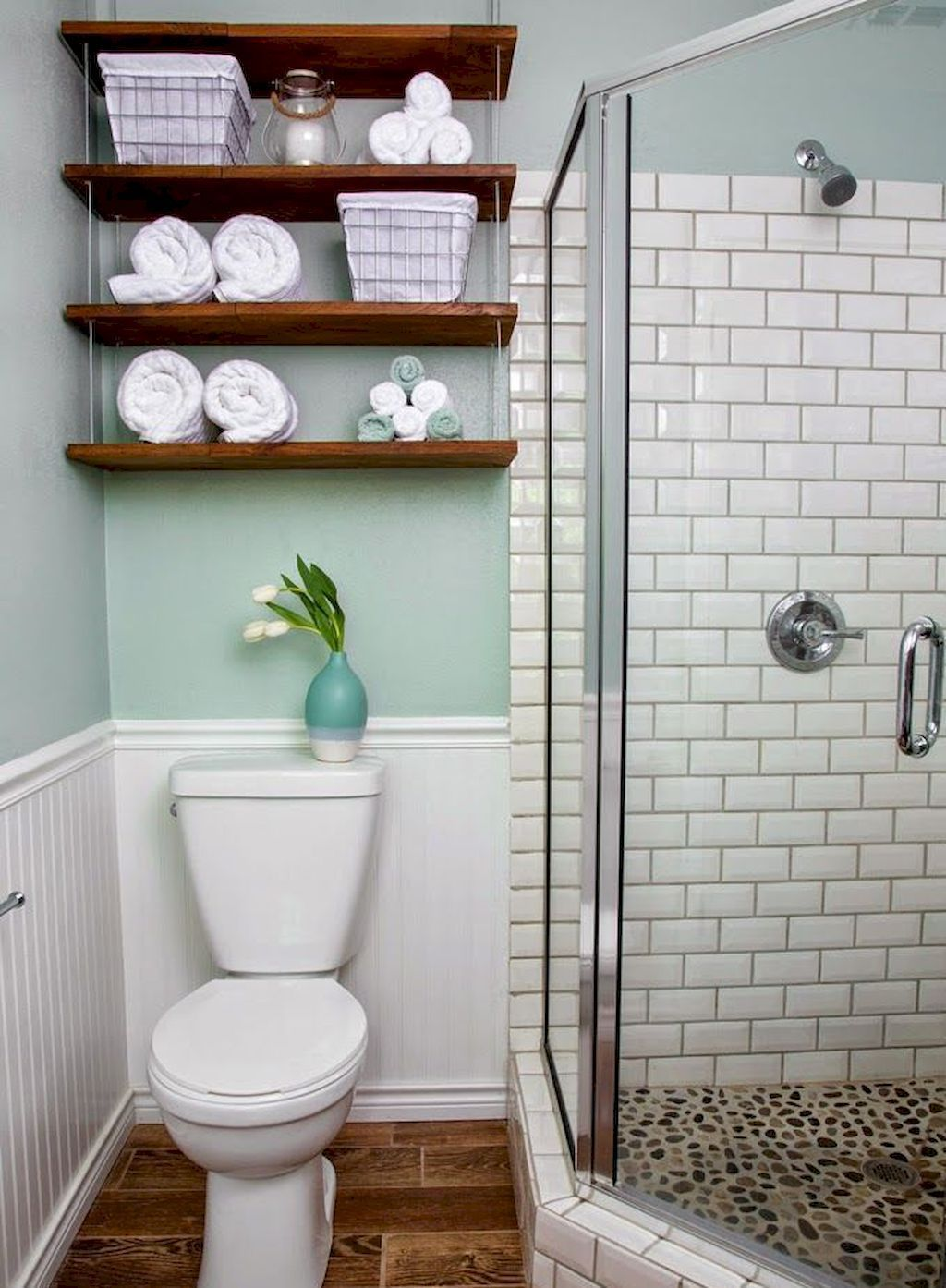35 Beautiful Small Bathroom Decor Ideas on A Budget in ...