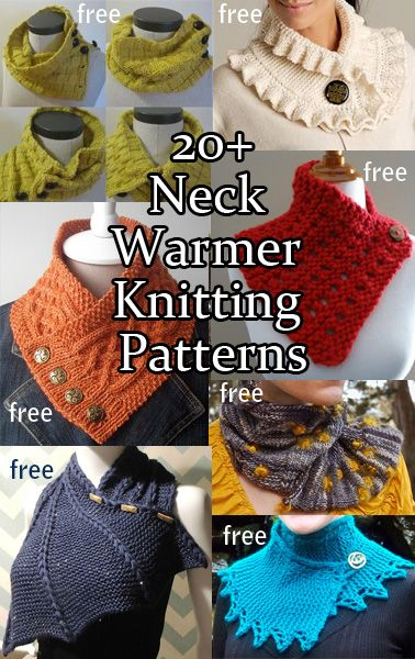Neckwarmer Knitting Patterns Knitting Pinterest Neck Wrap