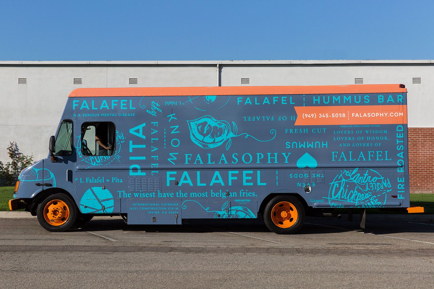 25 of the best food truck designs design galleries paste - 8 Ingenious Food Truck Designs Food Truck Falafel And Food Truck Design