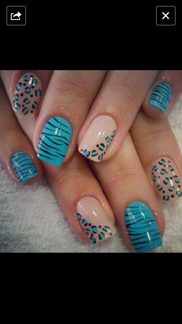 50 Cheetah Nail Designs Nails Pinterest Cheetah Nail Designs