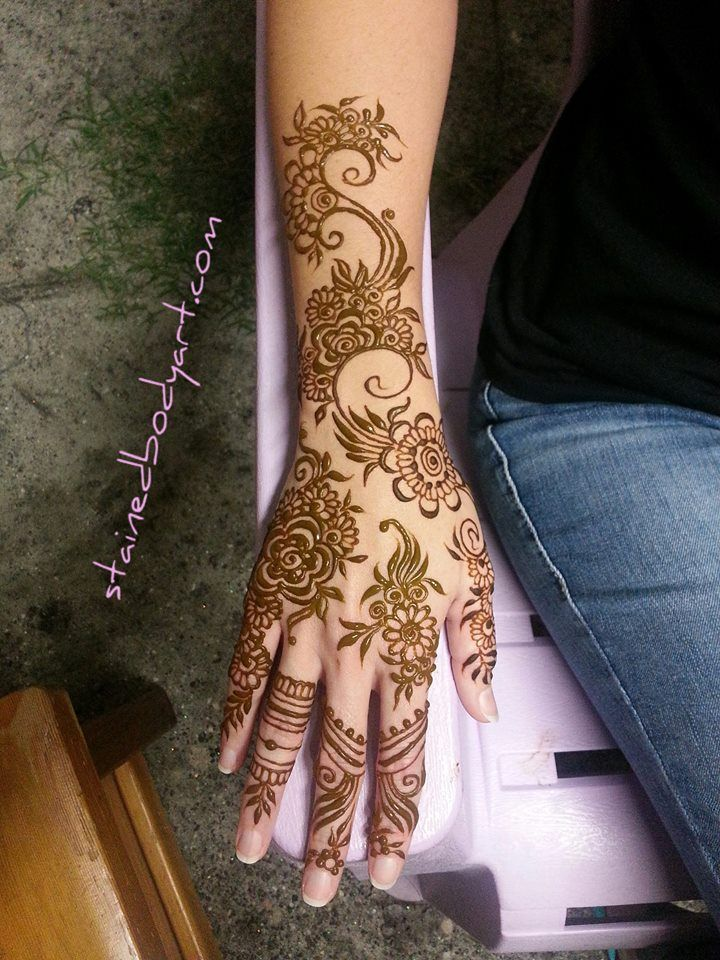 Lots Of Henna Is The Best Henna Stained In Tampa Florida