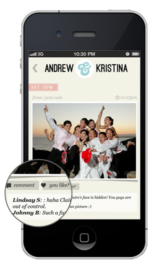 A Wedding Party App That Your Guests