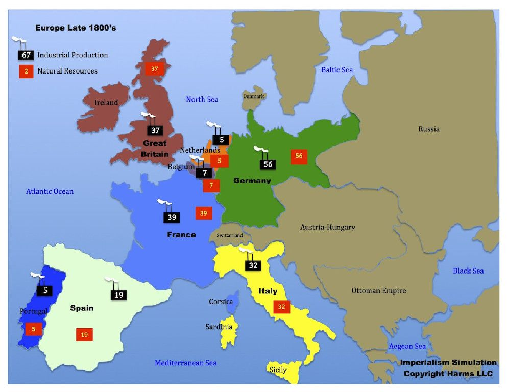 Imperialism lesson european map pinned by historysimulation imperialism lesson european map pinned by historysimulation gumiabroncs Gallery