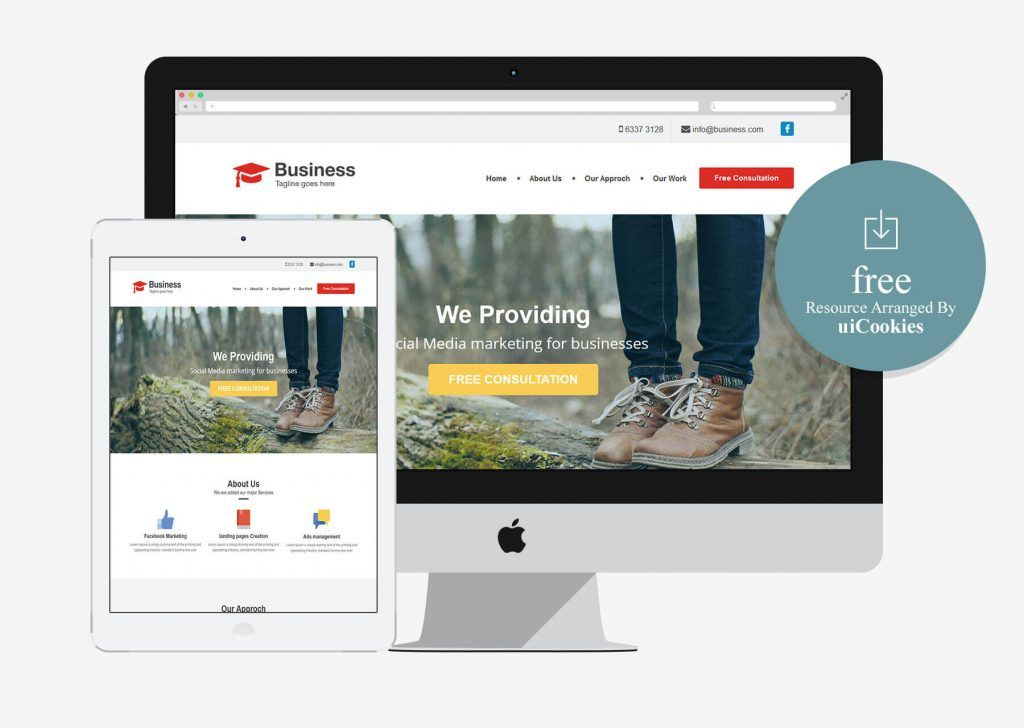 15+ Best Free Multipurpose Website Templates 2020 (With
