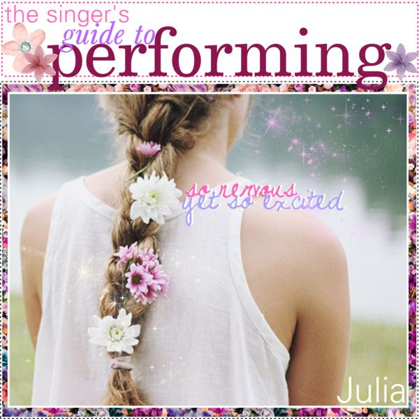the singer's guide to performing