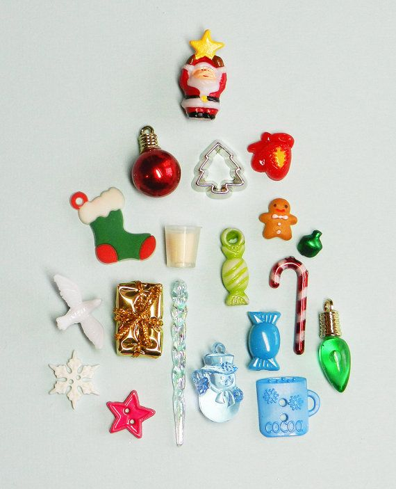 SALE Our tiniest CHRISTMAS TRINKETS for fillable by DinkyDoodads