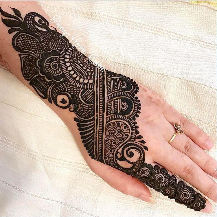 arabian mehndi ki design simple