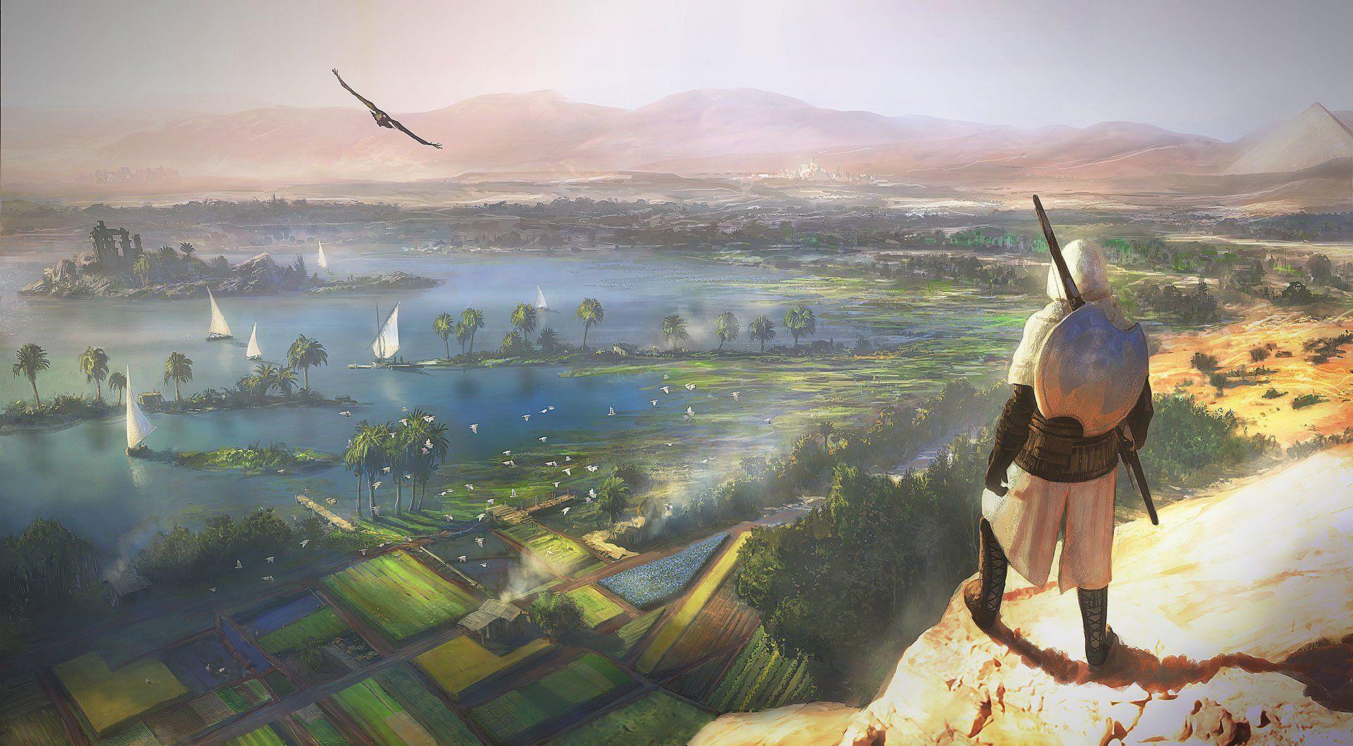 assassins creed origins wallpaper 1080p