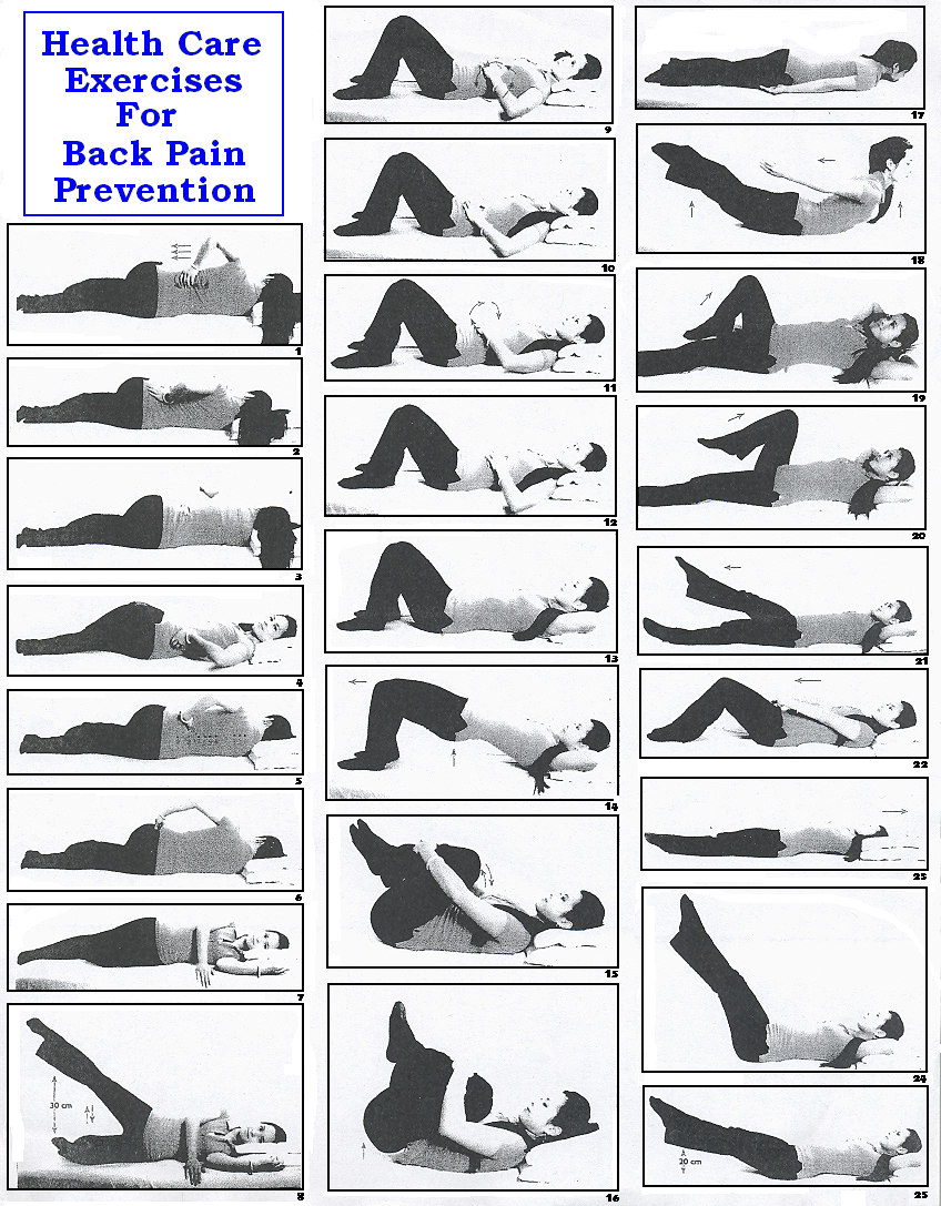 Back exercise lower physical therapy - Exercises Relief Pain Ehow Exercise Is A Good Way To Relieve Lower Back Pain