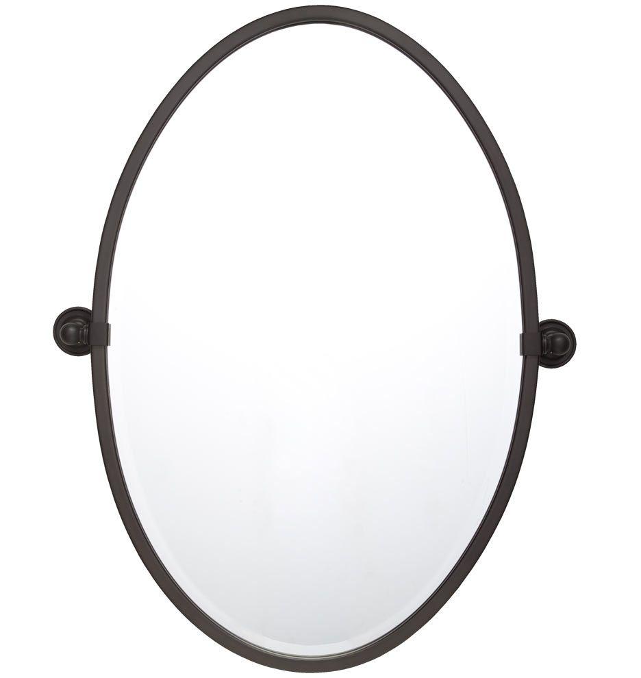 Landry Oval Pivot Mirror Rejuvenation 369 For The 32 H X 23 1