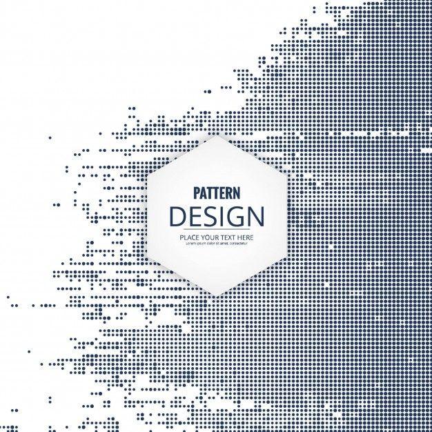 現代のハーフトーンパターンの背景 無料ベクター デジタル デザイン 背景パターン グラフィックデザイン