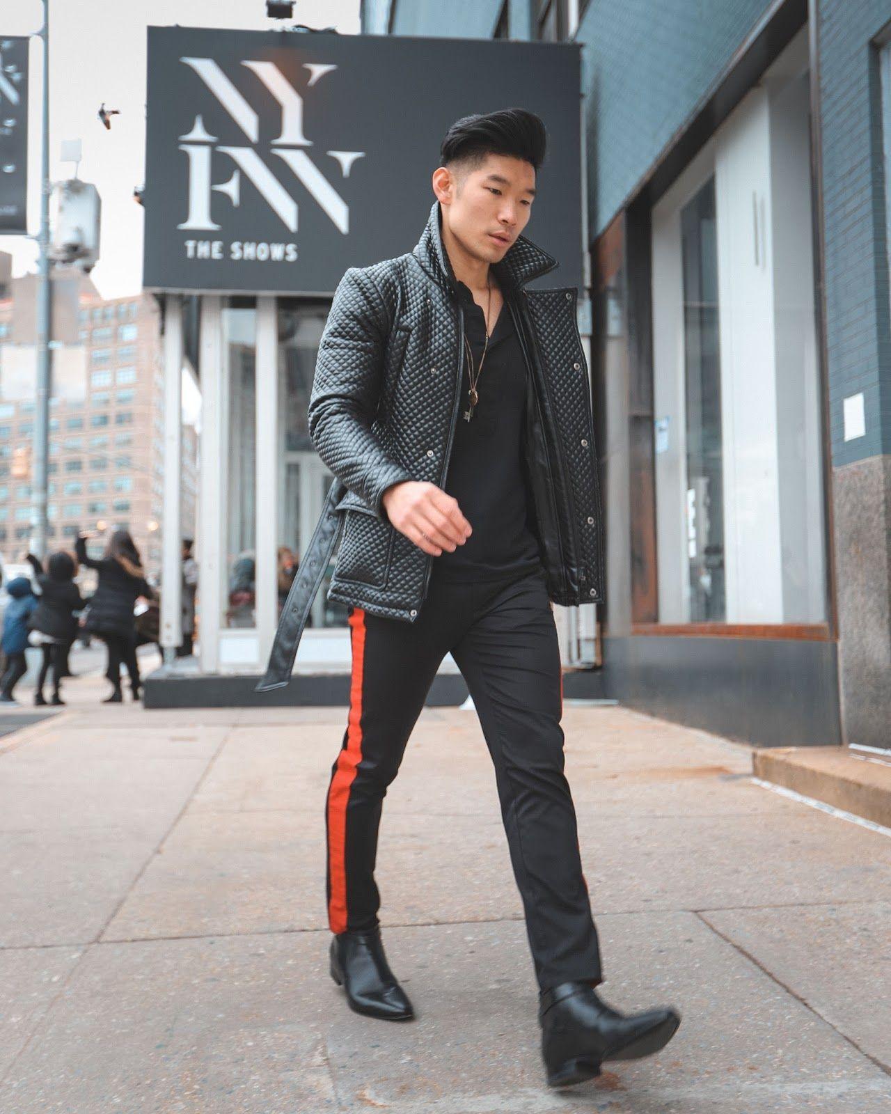 8e52334a9bf New York Fashion Week Men s Outfit - Leo Chan