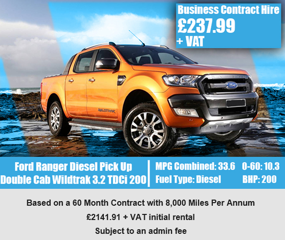 Ford Ranger Diesel Pick Up Double Cab Wildtrak 3 2 Tdci 200