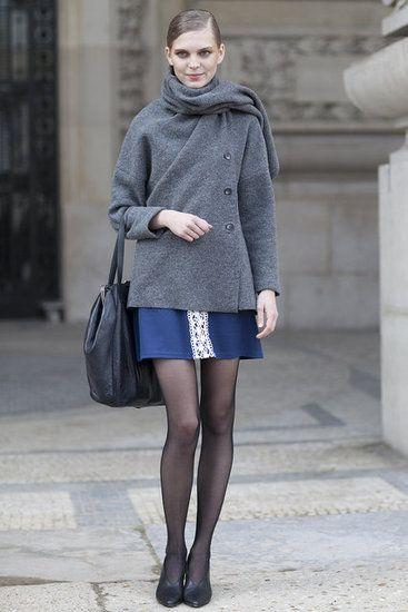 Paris #Fashion Week Street Style Fall 2012