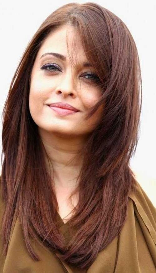 Long Hairstyles For Round Faces Long Hairstyles For Round Faces  Hair  Pinterest  Long Hairstyle
