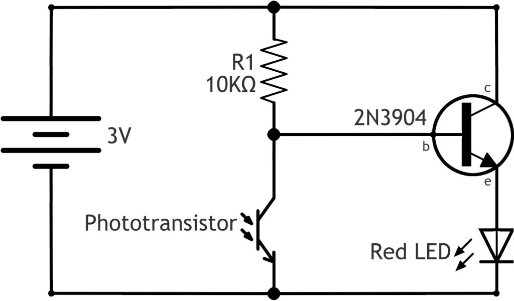 phototransistor equivalent circuit dark detector circuit using ldr rh q3c2tam8 alm63 info