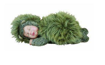 Lalka - Anna Geddes - Śpiący jeżyk