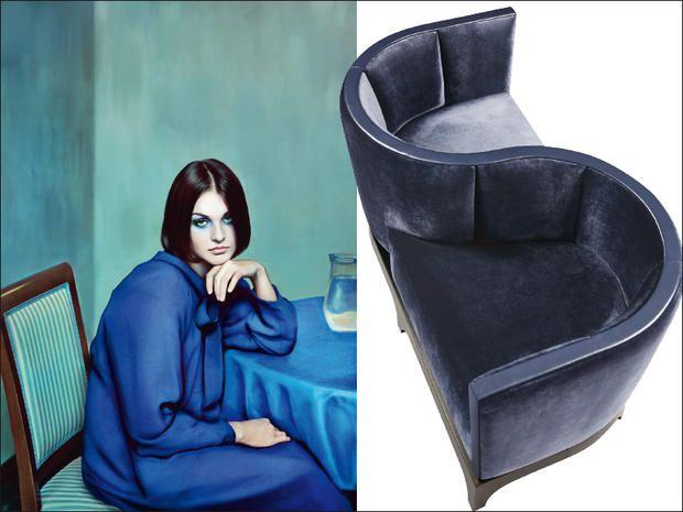 Arredi blu: aristocratico per discendenza, questo colore avvolge gli interiors di profondità e mistero