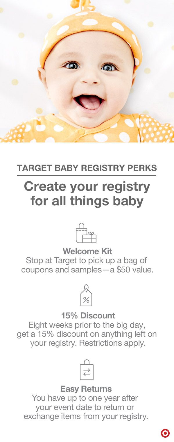 Congratulations! Target Baby can help you get everything ...