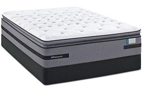 King Sealy Posturepedic Select Yonge Street Plush Euro Pillow Top