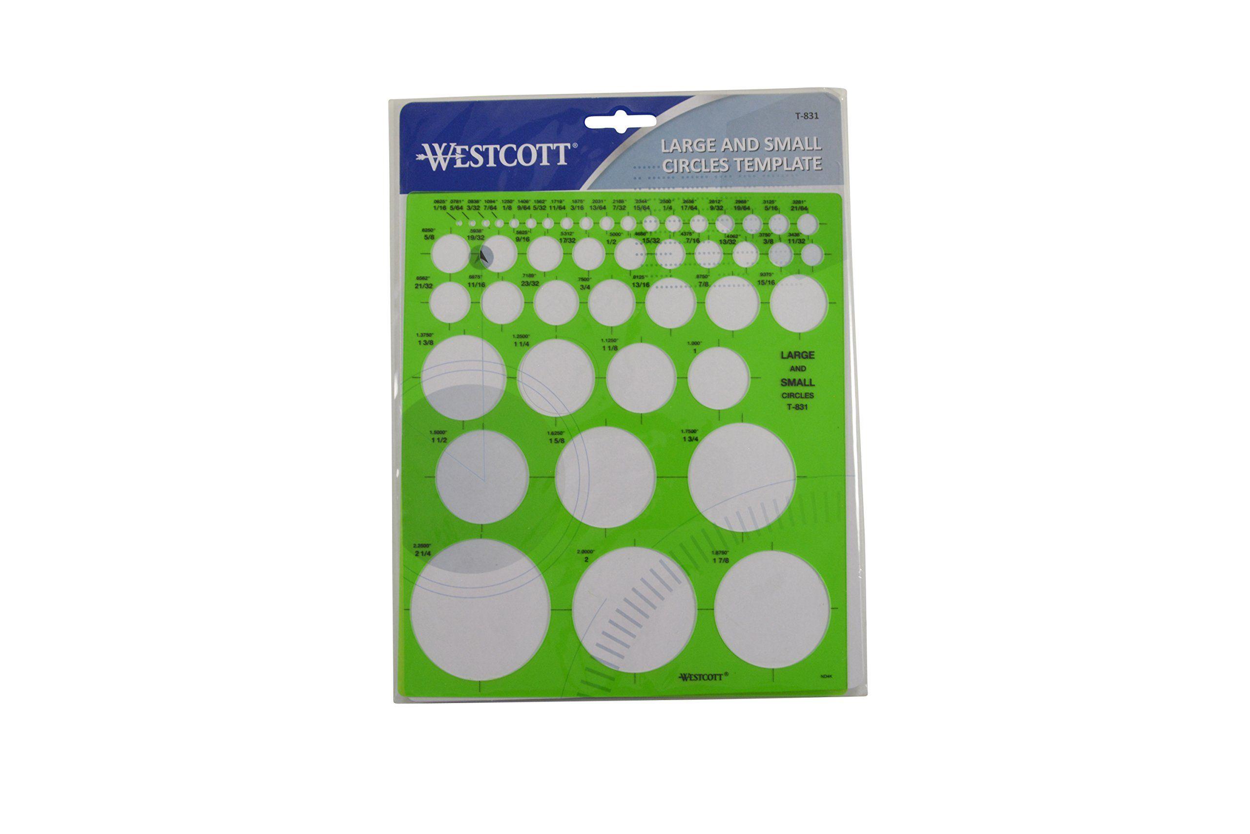 Westcott Small Circles Template