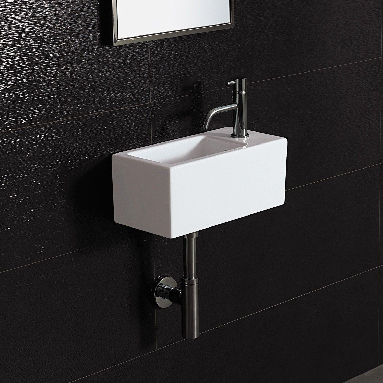 Small Rectangular Bathroom Sink Wall Mounted Bathroom Sinks