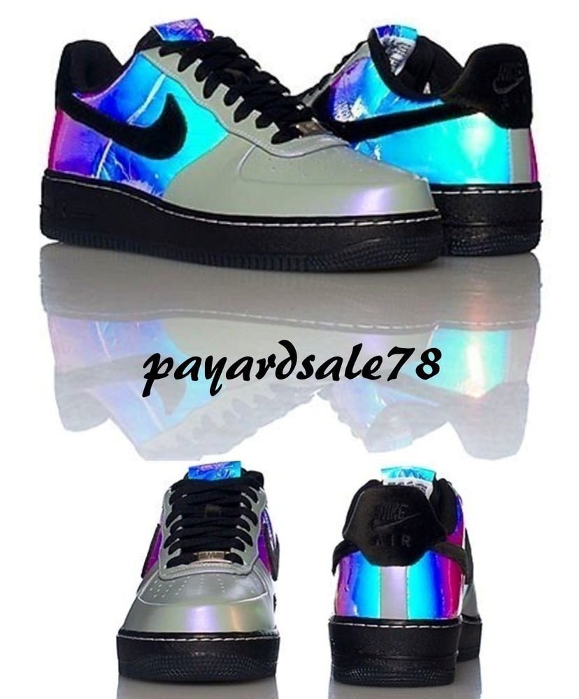 Nike Air Force 1 Low PRM White Hologram Women Sizes