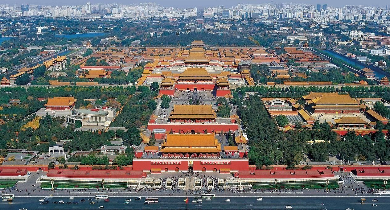 Chinese Architecture The Forbidden City Beijing China It Was Built Between 1406 And 1420 During The Ming Dynasty It Ha Forbidden City Beijing Travel City