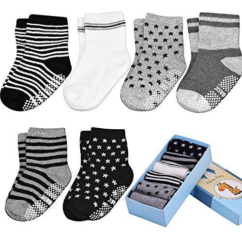 Baby ABS Socken, Anti Rutsch Socken für 12-36 Monate Baby... https://www.amazon.de/dp/B01MZ50IEN/ref=cm_sw_r_pi_dp_x_.Bj8ybVZKSK1N