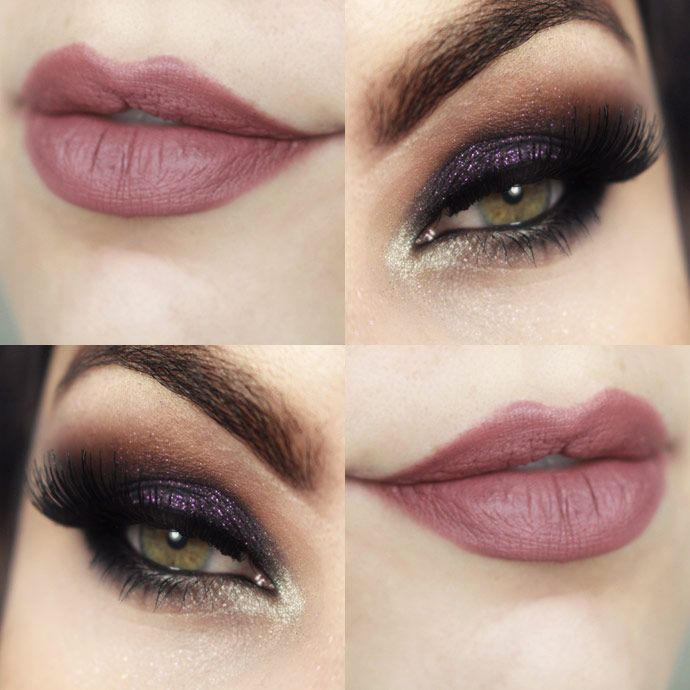 makeup   Maquilhagem e unhas   Maquiagem olhos pretos ...