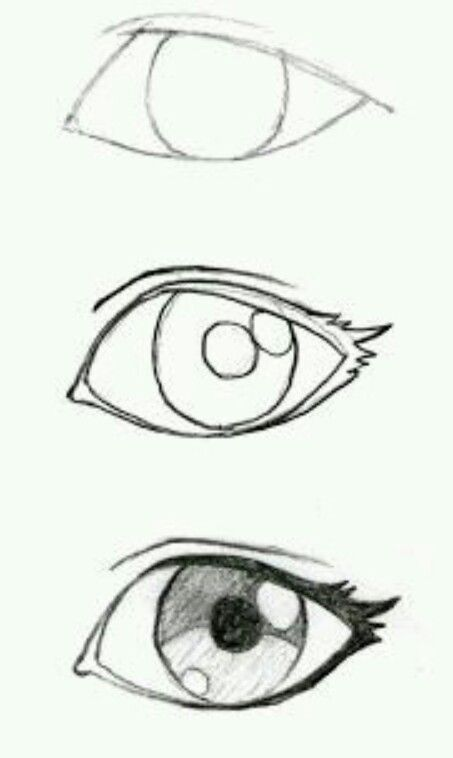 How to draw an anime eyr
