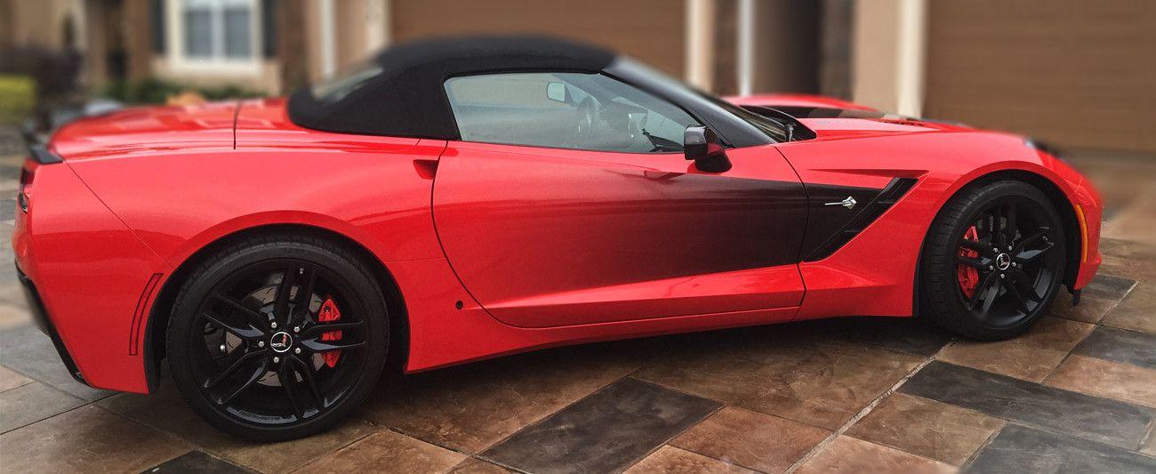 20142019 C7 Corvette Stingray Side Graphic Sport Fade