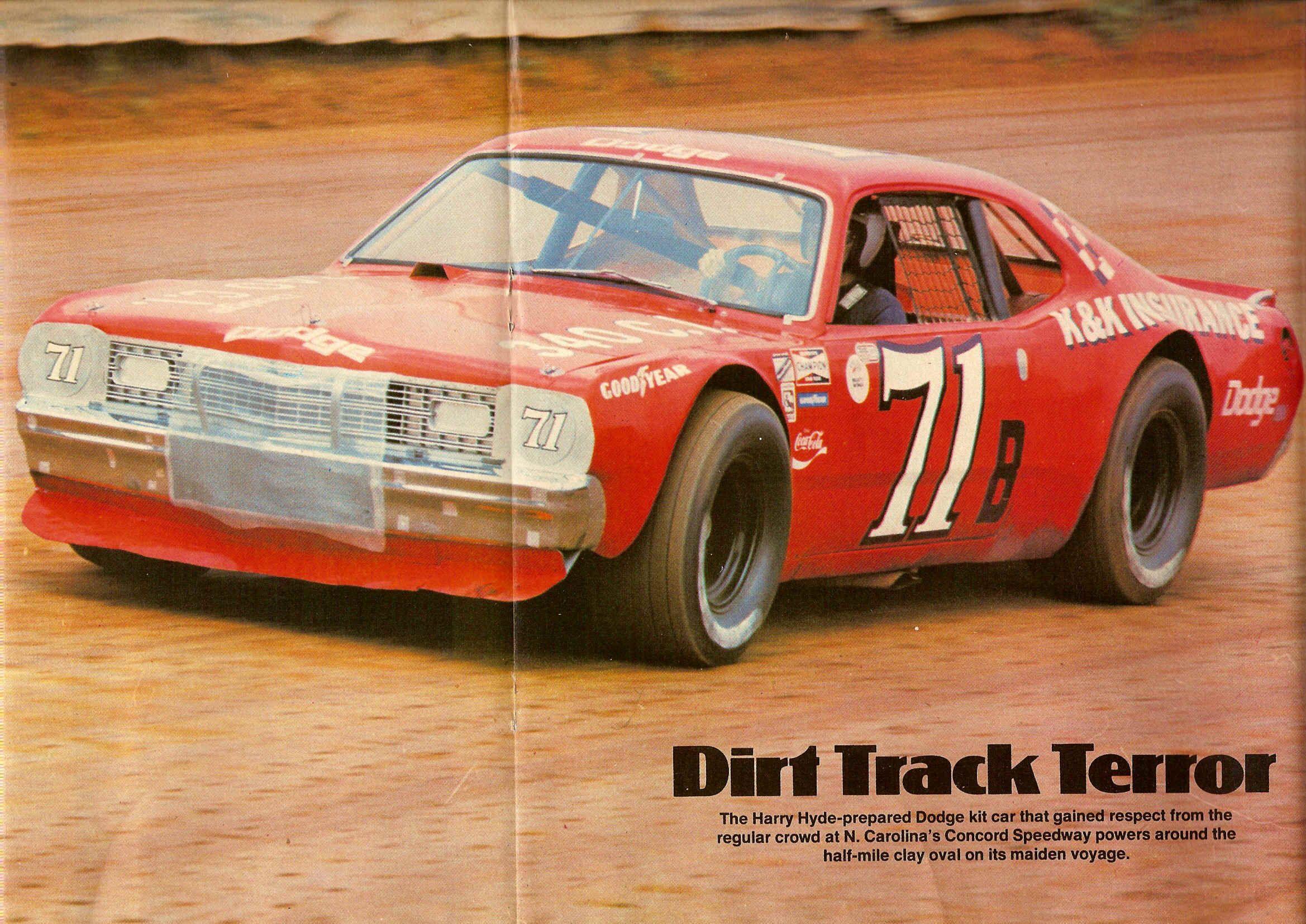 K K Insurance Dodge Kit Car 1975 Nascar Race Cars Sports Car