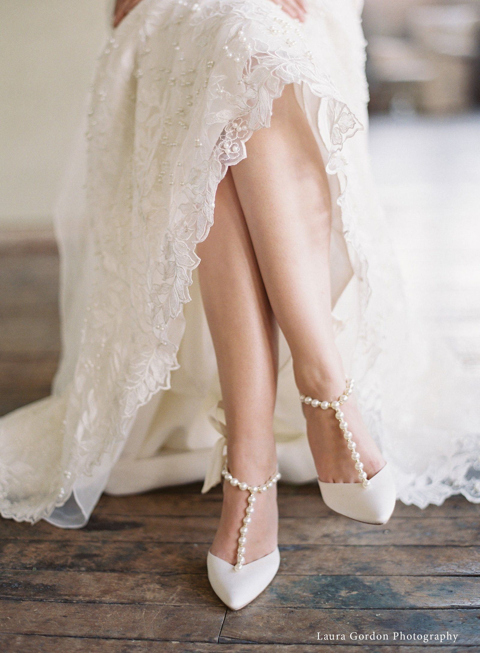 Wedding Shoes With Pearls And Bows Wedding Shoes Heels Wedding Heels Wedding Shoes Comfortable