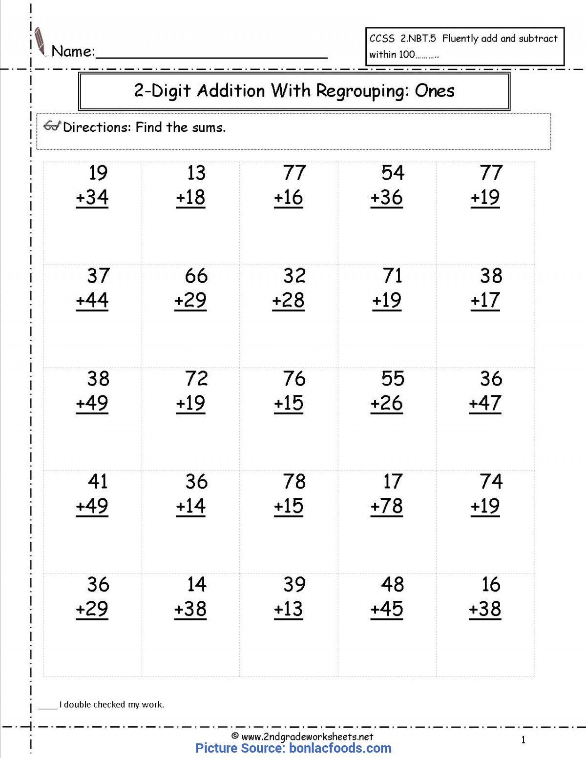 2nd Grade Teks Math Worksheets Free 2nd Grade Daily Math