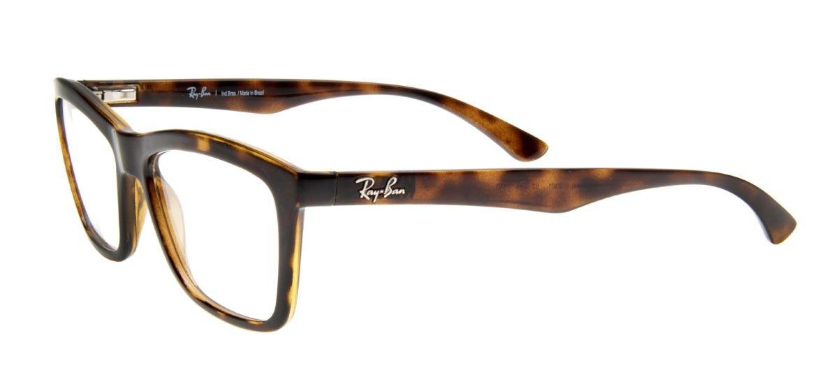 39c17bd5aec53 Ray-Ban RB7044L Wayfarer- Armação Tartaruga Óculos De Grau Masculino