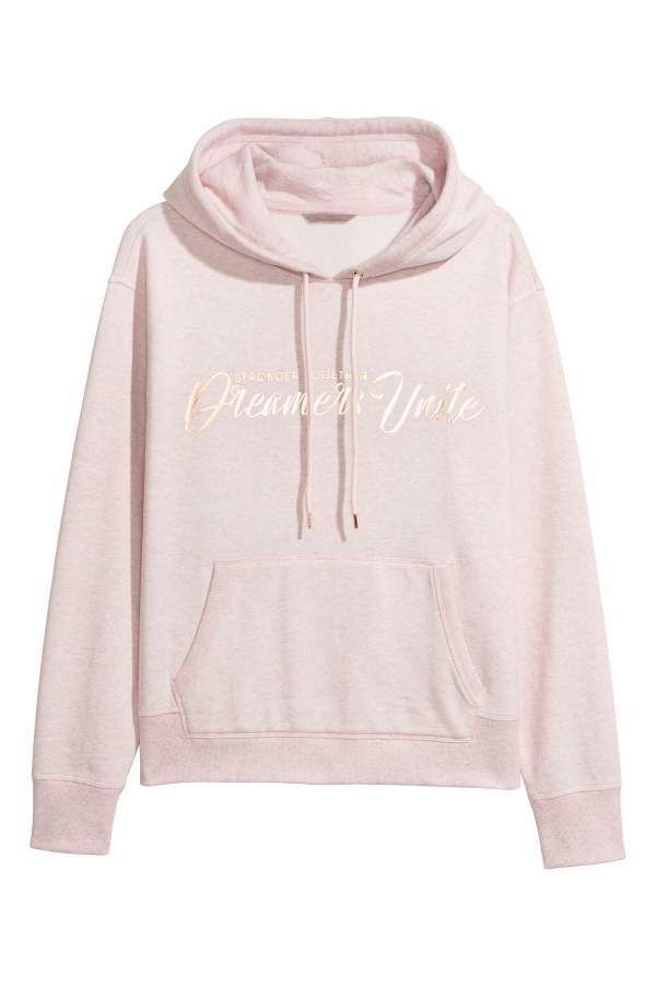 a38c8b6bf2e H M Printed Hooded Sweatshirt. H M Printed Hooded Sweatshirt Shirt Skirt